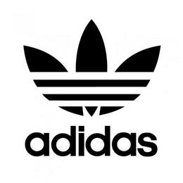 Adidas Originaalide kleebis ilma taustata 8 x 8 cm
