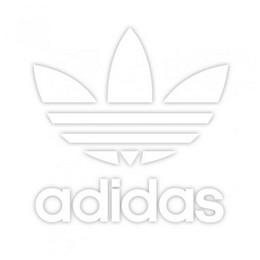 Adidas Originaalide taustkleebis 15 x 15 cm