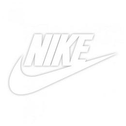 Nike kleebis ilma taustata 8 x 4 cm