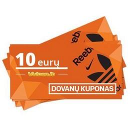 Dovanų kupong 10 €