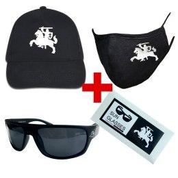Vytis müts + prillid + mask